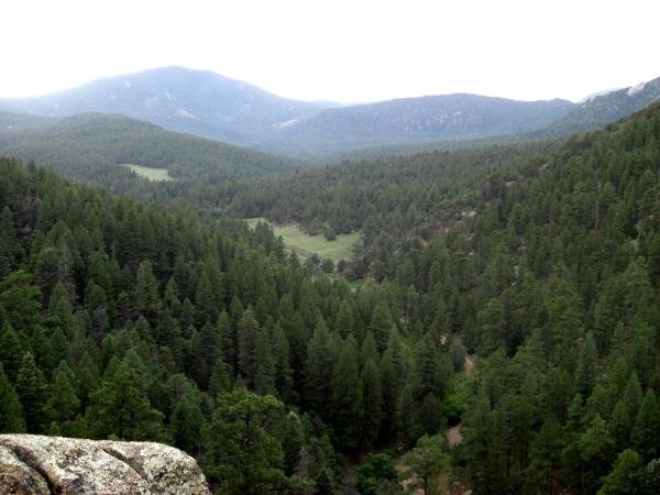 View from Lovers Leap at Philmont Scout Ranch