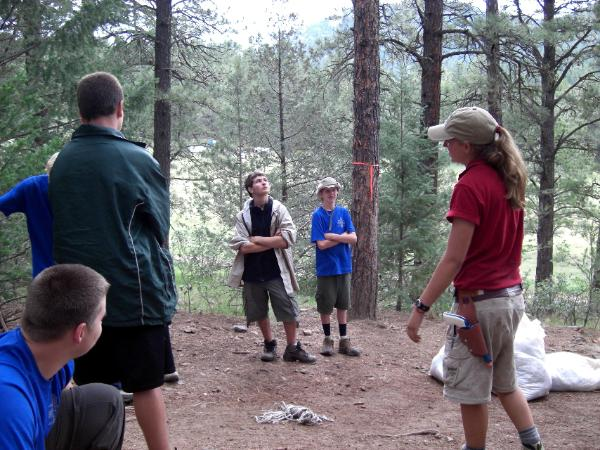Philmont Ranger Robyn Ruggles, Training Crew 718T the