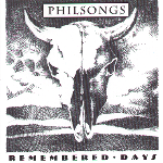 Philsongs - Remembered Days -- CD cover